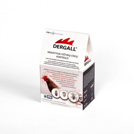 Dergall - vištinių erkių kontrolei (100 ml) (06240)