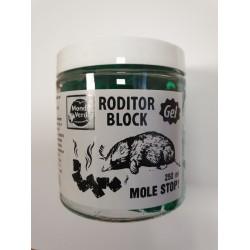 Želė kurmių baidymui RODITOR BLOCK MOLE STOP 250 ml (06252)